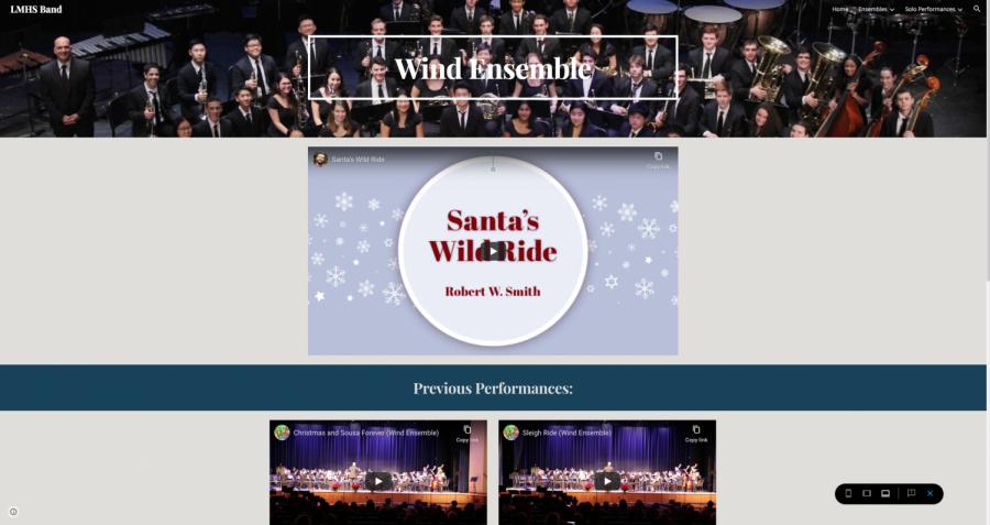 Wind Ensemble Winter Band Showcase