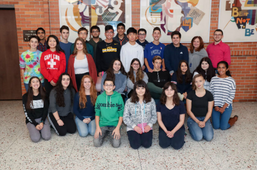 The 2019-2020 debate team. (Photo from 2019-20 Yearbook)